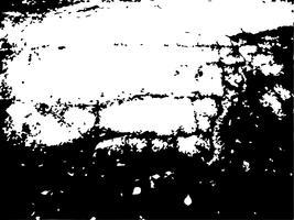 Texture de détresse grunge noir et blanc. vecteur