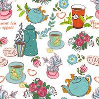 thé sans soudure vecteur