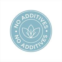 Sans additifs vecteur