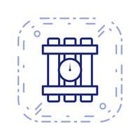 icône de vecteur de dynamite