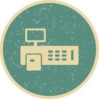 Facture Machine Vector Icon