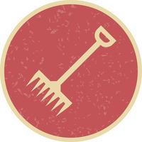 icône de vecteur de râteau