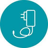 Icône de vecteur de chargeur mobile