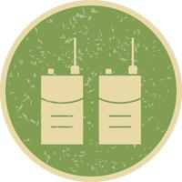 Talkie-walkie Vector Icon