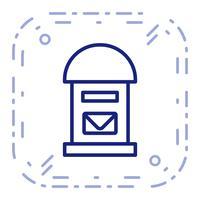 Icône de vecteur Postbox