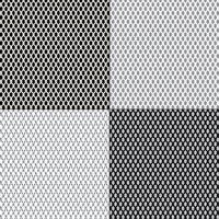 motifs d'arrière-plan de clôture grillagée vecteur