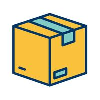 Icône de paquet de vecteur