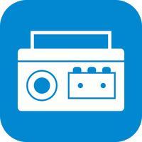 icône de vecteur de lecteur de cassette
