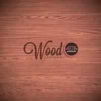 Design de fond de texture bois Vector. Illustration en bois vintage sombre naturelle. vecteur
