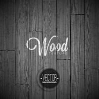 Design de fond de texture bois Vector. Illustration en bois vintage sombre naturelle.
