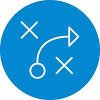 icône de vecteur de tactique