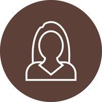 Icône de vecteur de femmes d'affaires