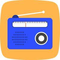 icône de vecteur radio