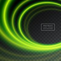 Texture abstraite effet de lumière sur fond transparent. vecteur