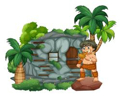 Homme des cavernes