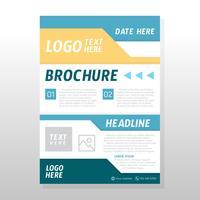 Conception de brochures commerciales
