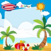 Heure d'été sur la plage