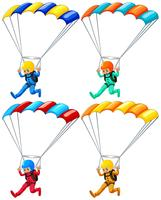 parachute vecteur