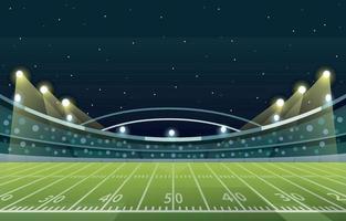 fond de stade superbowl vecteur