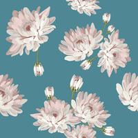 Floral pattern sans couture avec des chrysanthèmes