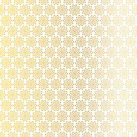 motif étoile abstrait blanc doré