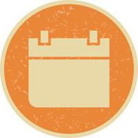 Calendrier Vector Icon Icône Vector