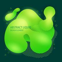Éléments de conception des formes liquides abstraites modernes abstraites. Bannière de couleur dégradé lumineux dynamique