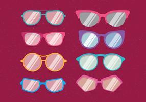 Vecteur de lunettes