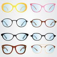 Lunettes Vector Pack