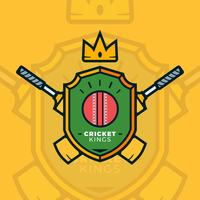 vecteur de logo de cricket