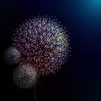 Pissenlit abstrait en vectoriel