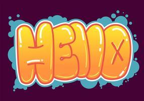 graffiti vecteur