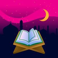 Incroyable Al Coran vecteur