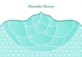 Ramadan Kareem Salut vecteur