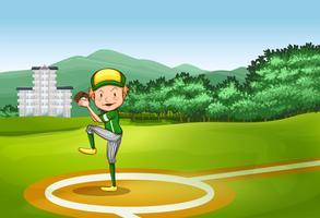 Base-ball vecteur
