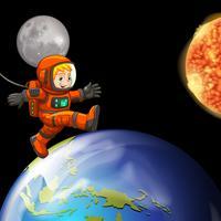 astronaunt vecteur