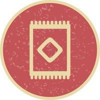 Icône de vecteur de tapis