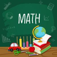 Un modèle d'élément mathématique vecteur