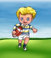Le rugby vecteur