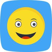 Heureux Emoji Vector Icon
