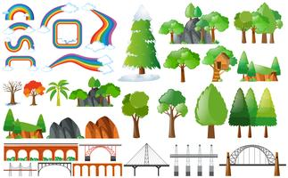 Rainbows, arbres et éléments de conception