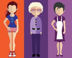 Avatar de personnes avec variations du corps et du torse