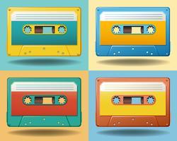cassettes vecteur
