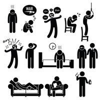 Psychologie Trouble mental psychiatrique Problème Psycho Illness Treatment.