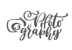 icône du logo photographie appareil photo vecteur