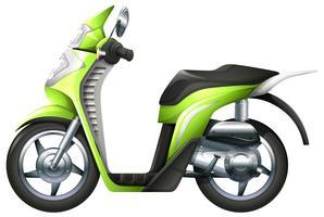 Un scooter vecteur