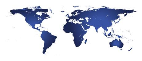 Carte du monde vecteur