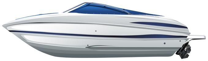 Un bateau vecteur