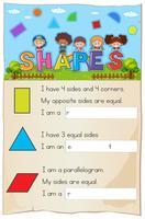 Chapitre sur les formes de la feuille de calcul des mathématiques