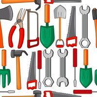 Fond transparent avec des outils vecteur